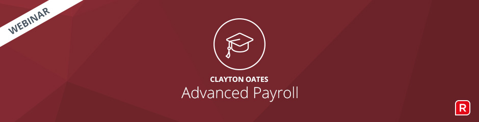 Clayton Oates Advanced Payroll Processing Webinar - Reckon Accounts