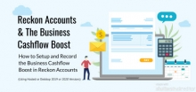 Business Cash Flow Boost in Reckon Accounts
